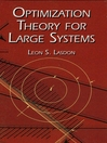 Optimization Theory for Large Systems (eBook)